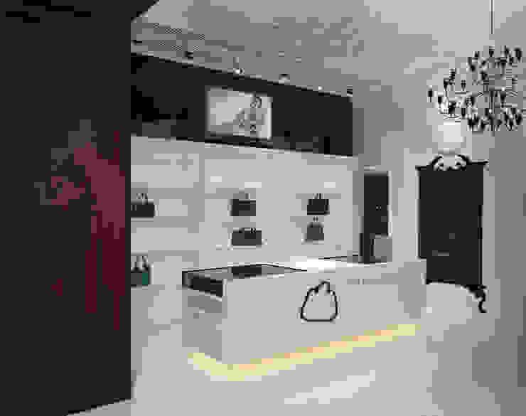 Магазин галантереи в Севастополе Офисы и магазины в эклектичном стиле от Дизайн - студия Пейковых Эклектичный