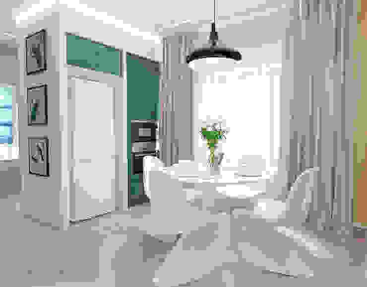 Кухня Столовая комната в стиле минимализм от mysoul Минимализм