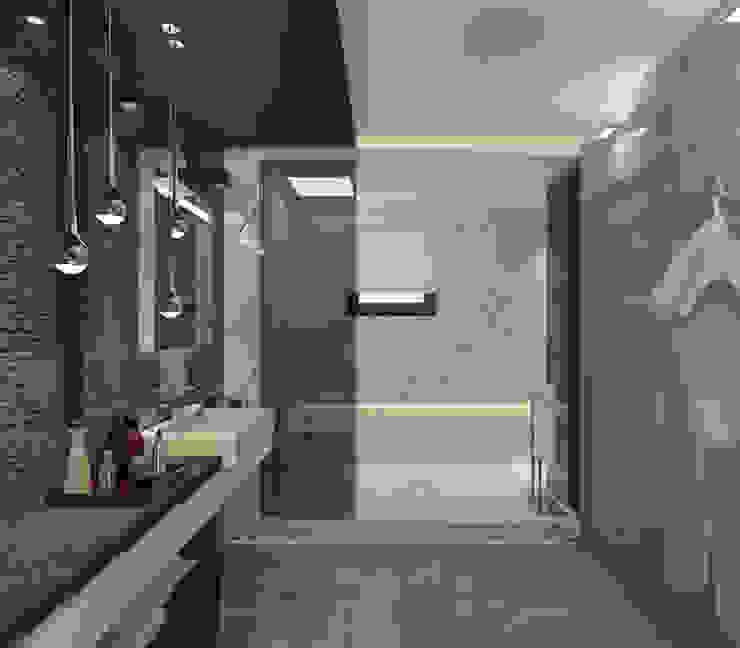 Коттедж в Тайланде, Пхукет Ванная комната в стиле минимализм от Дизайн - студия Пейковых Минимализм