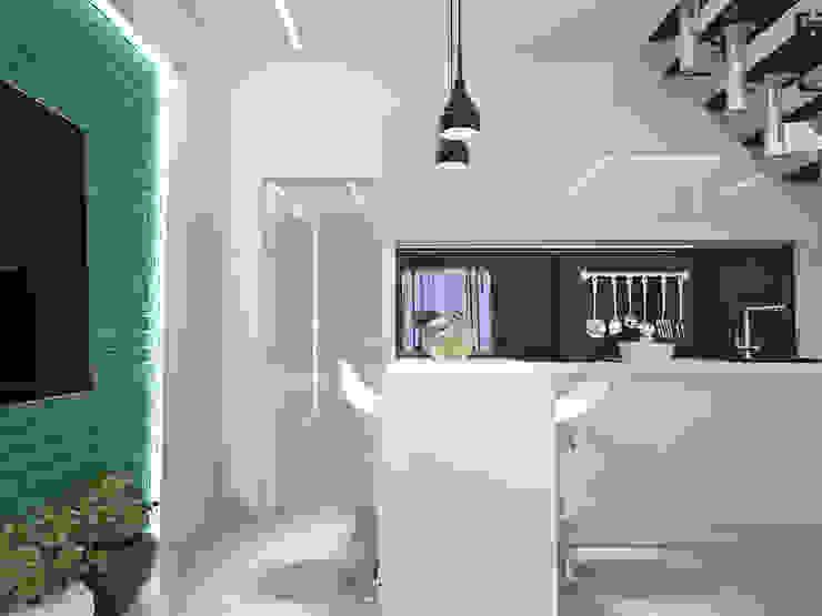 Кухня Кухня в стиле минимализм от mysoul Минимализм