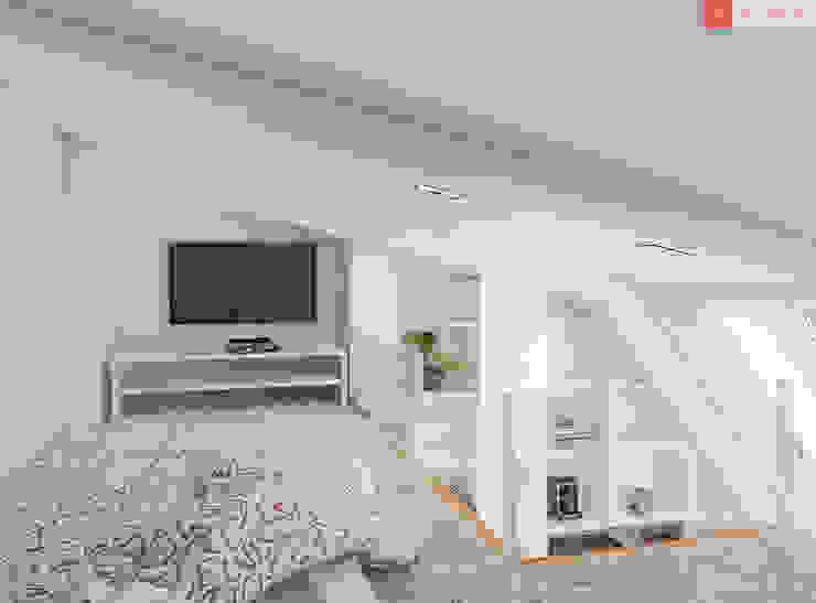 2+1 Детская комнатa в стиле минимализм от RogovStudio Минимализм