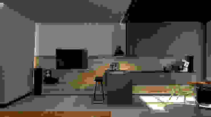 Коттедж в Подмосковье Кухня в стиле лофт от Дизайн - студия Пейковых Лофт
