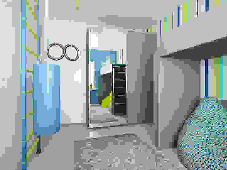 Детская для мальчика Детская комнатa в стиле минимализм от mysoul Минимализм