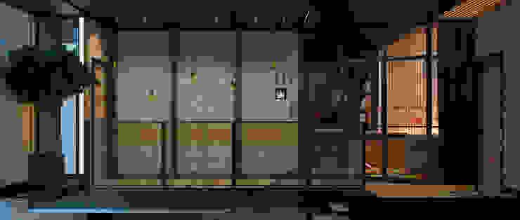 Коттедж в Подмосковье, 2 этаж Коридор, прихожая и лестница в стиле лофт от Дизайн - студия Пейковых Лофт
