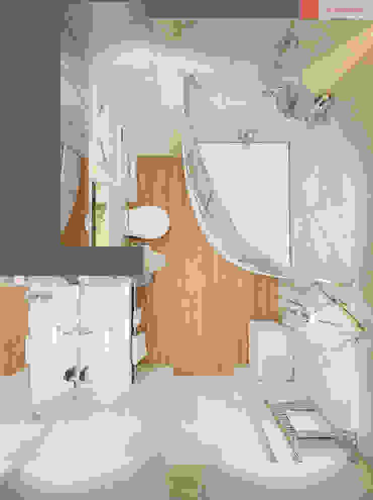 2+1 Ванная комната в стиле минимализм от RogovStudio Минимализм