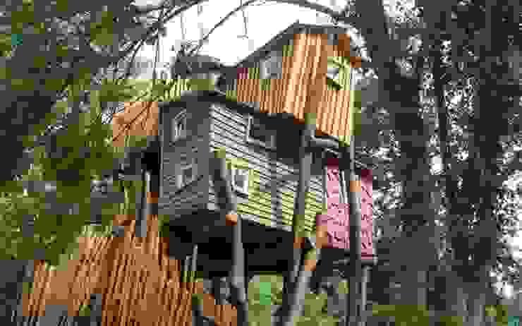 Bijzondere boomhut overnachting bij Kulturinsel in Duitsland Moderne hotels van TreeGo Boomhut Bouwers Modern