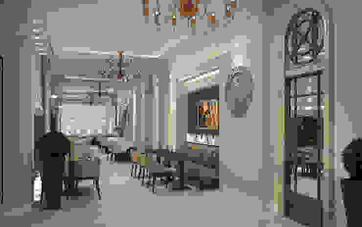Ресторан на Херсонесе от Дизайн - студия Пейковых Средиземноморский