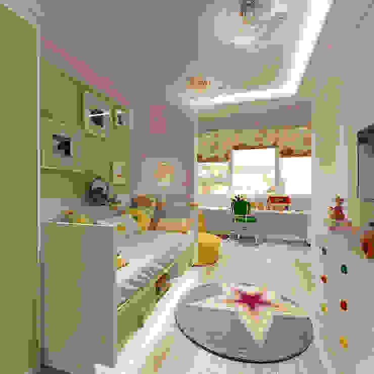 Квартира на Кутузова Детская комната в стиле модерн от ООО 'Студио-ТА' Модерн