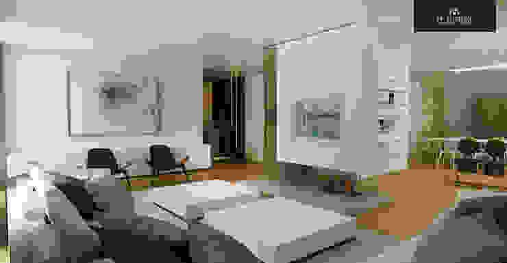 HP Interior srl Moderne Wohnzimmer