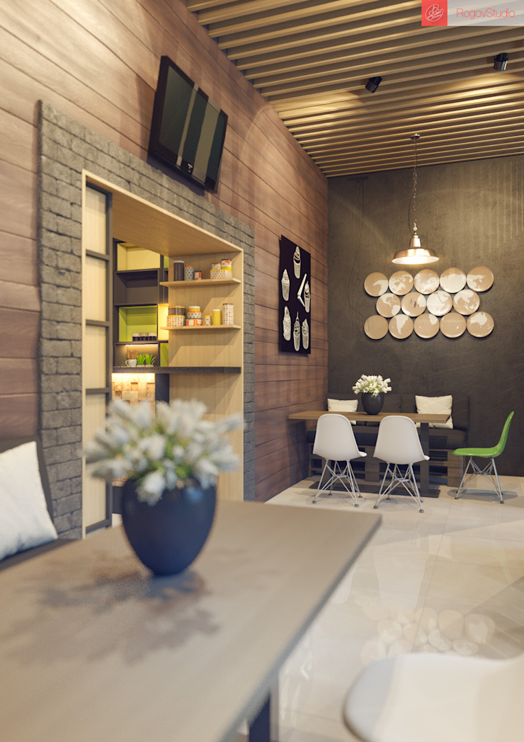 Брю Бар Гостиницы в стиле лофт от RogovStudio Лофт