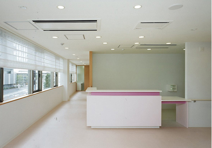 眼科受付 オリジナルな病院 の 堀内総合計画事務所 オリジナル