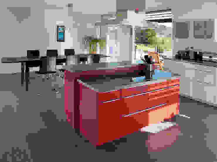 EFH Bauert, Dättlikon Moderne Küchen von Binder Architektur AG Modern