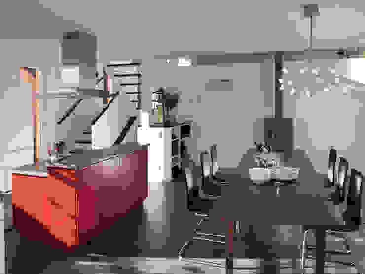 EFH Bauert, Dättlikon Moderne Esszimmer von Binder Architektur AG Modern