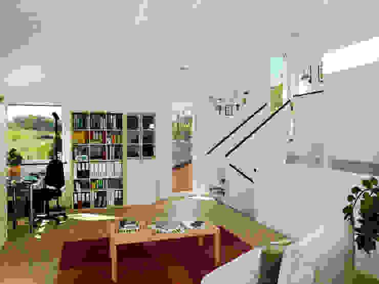 EFH Bauert, Dättlikon Moderne Wohnzimmer von Binder Architektur AG Modern