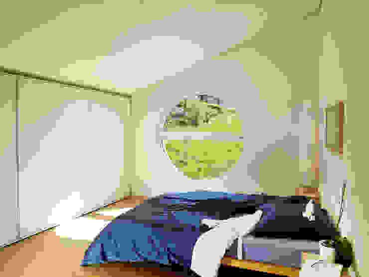 EFH Bauert, Dättlikon Moderne Schlafzimmer von Binder Architektur AG Modern