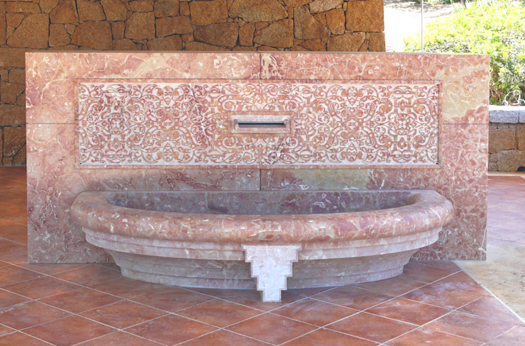Fountains in stone and marble van CusenzaMarmi Mediterraan