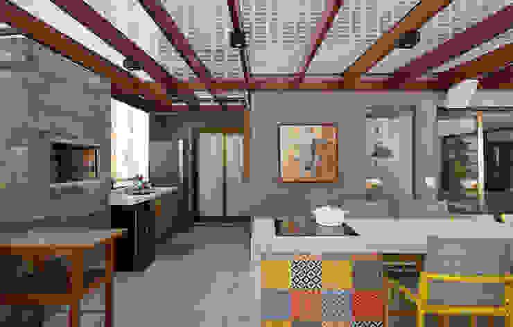 Varandas, marquises e terraços modernos por MANDRIL ARQUITETURA E INTERIORES Moderno