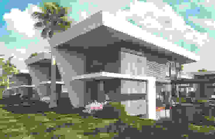Mİ'KORA BOYALIK VİLLALARI Modern Pencere & Kapılar S.U.V. YAPI TURİZM SANAYİ ve TİCARET ANONİM ŞİRKETİ Modern