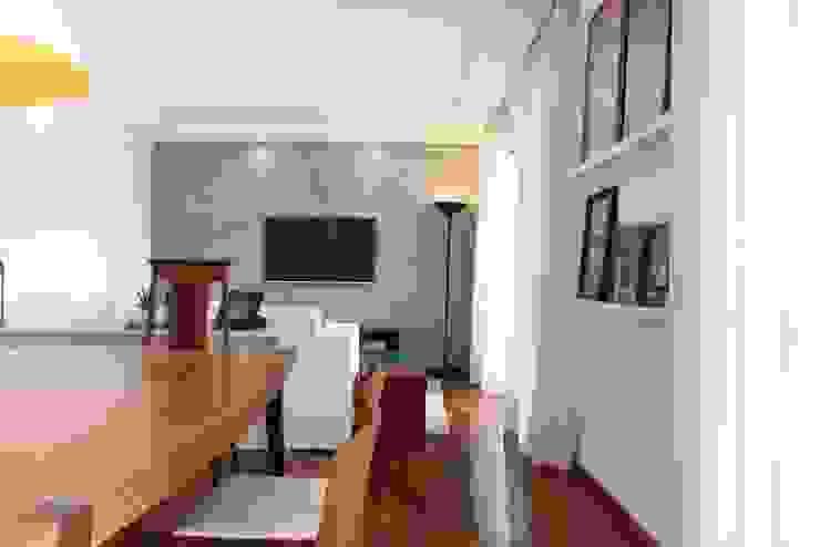 Ap Brooklin 03 Salas de jantar modernas por Mariana Dias Arquitetura Moderno