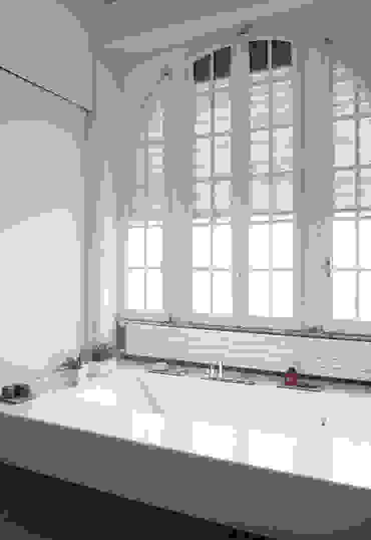 CASA C+D 3C+M architettura Bagno minimalista