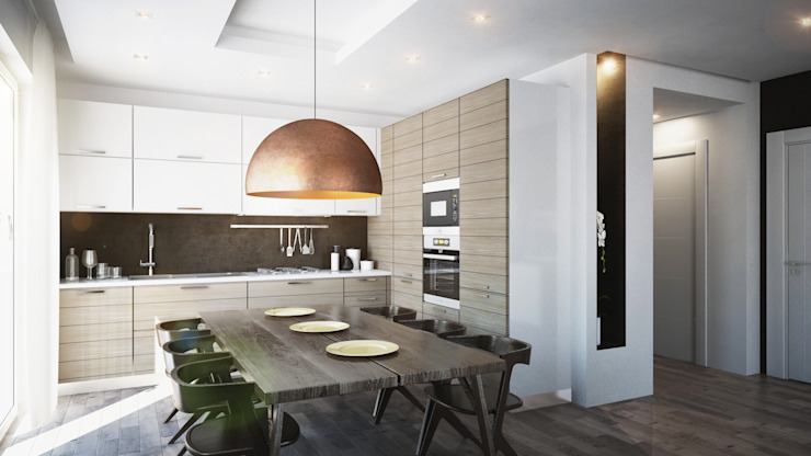 Kitchen by Beniamino Faliti Architetto,