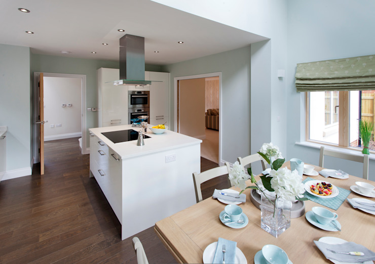 Lime Grove Modern kitchen by Lee Evans Partnership Modern