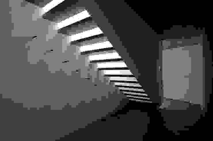 mpp architekten ag Modern Corridor, Hallway and Staircase
