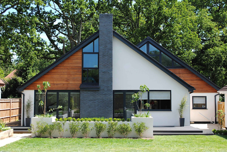 House in Chandlers Ford II Maisons modernes par LA Hally Architect Moderne