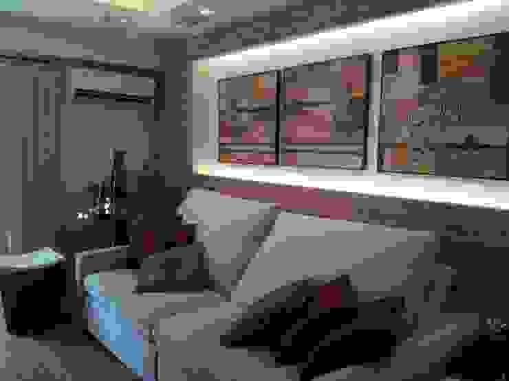 Apart em Ipanema Salas de estar ecléticas por Ana Adriano Design de Interiores Eclético