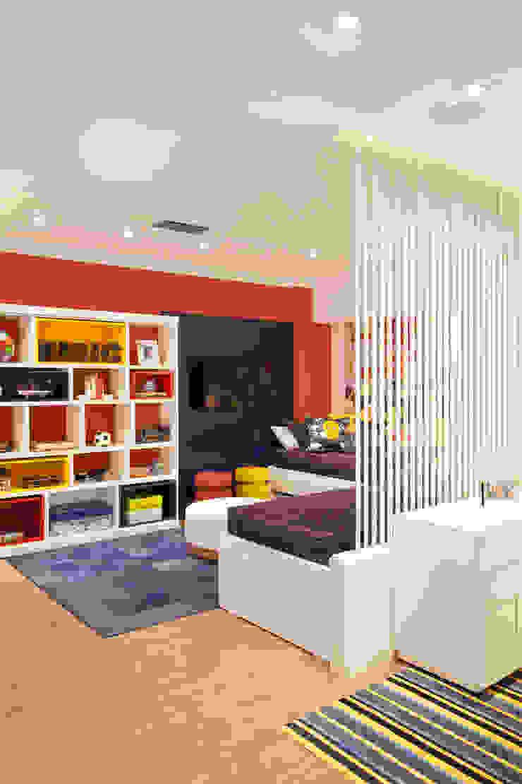 Quarto dos Gêmeos Lojas & Imóveis comerciais modernos por Ana Adriano Design de Interiores Moderno