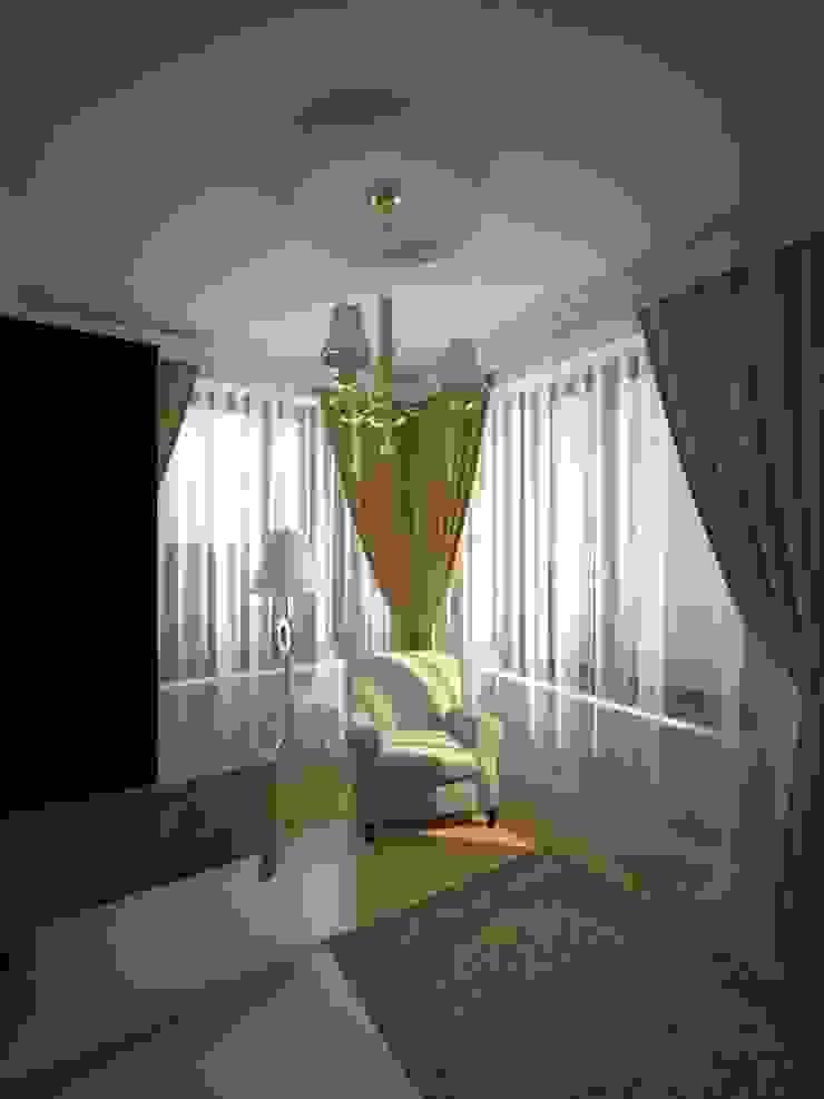 Шик 2 Спальня в классическом стиле от Дизайн студия Александра Скирды ВЕРСАЛЬПРОЕКТ Классический