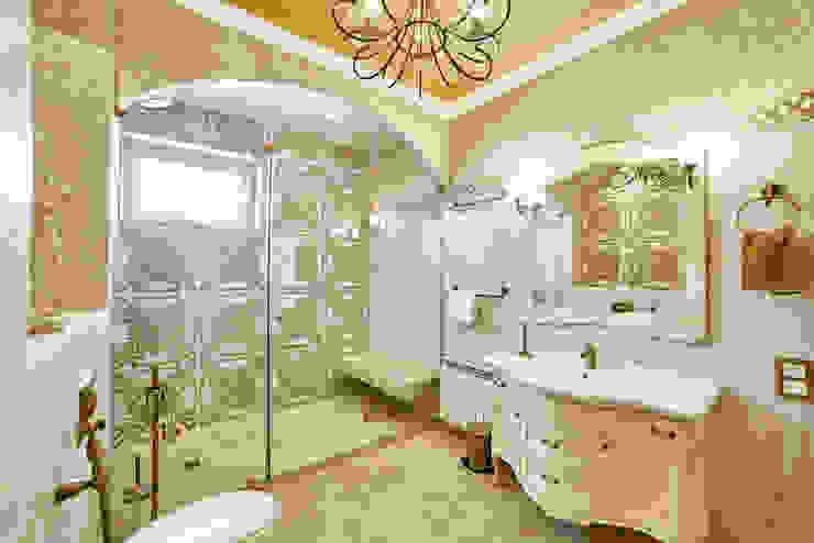 Интерьеры жилого дома в пос.Дубовое Ванная в классическом стиле от ООО 'Архитектурное бюро Доценко' Классический