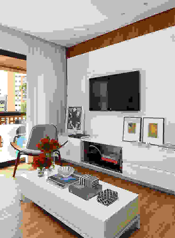 Modern Oturma Odası Casa 2 Arquitetos Modern