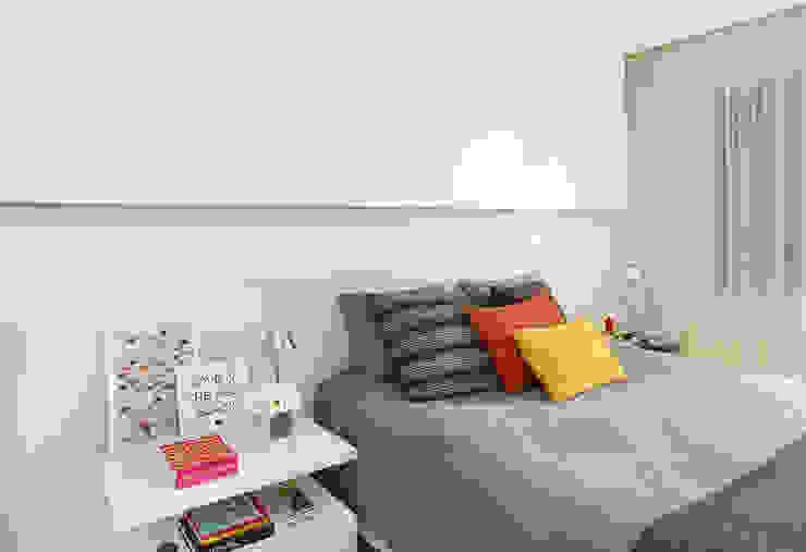 Modern Yatak Odası Casa 2 Arquitetos Modern