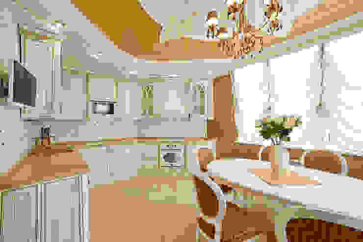 ООО 'Архитектурное бюро Доценко' Eclectic style kitchen