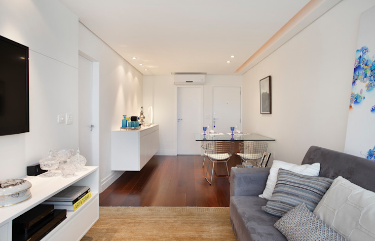 Apartamento 08 Salas de jantar modernas por Estúdio Barino | Interiores Moderno