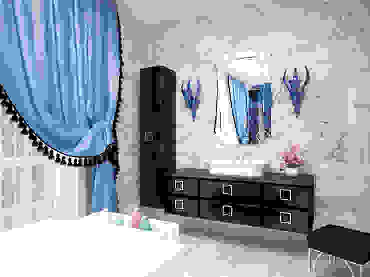 Ванная комната. Ванная комната в эклектичном стиле от LD design Эклектичный
