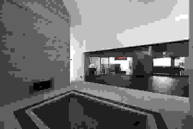 株式会社廣田悟建築設計事務所 Baños de estilo moderno