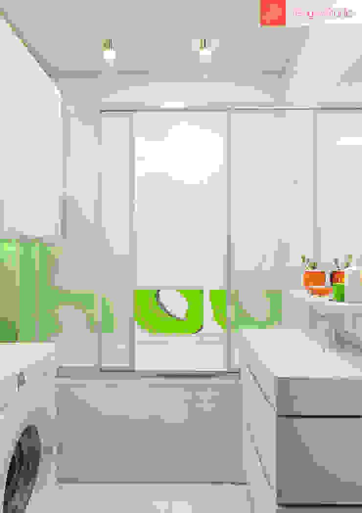 Яркие мечты Ванная комната в стиле минимализм от RogovStudio Минимализм