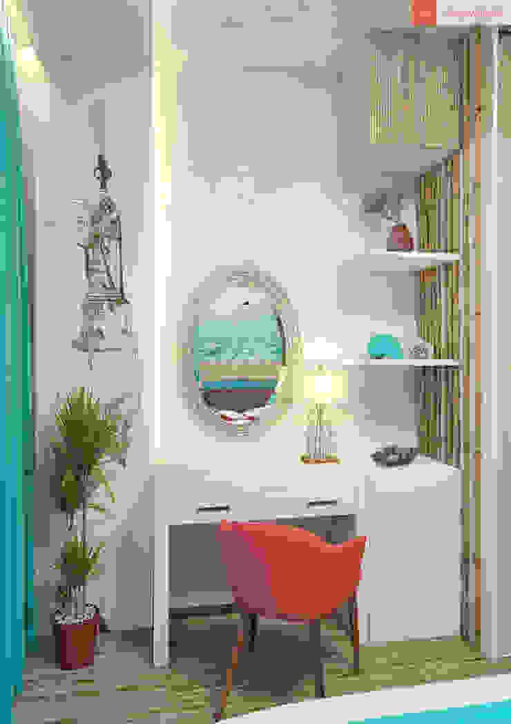Яркие мечты Спальня в средиземноморском стиле от RogovStudio Средиземноморский