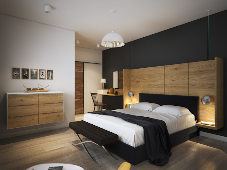 D&S Altaş Home Modern Yatak Odası yücel partners Modern