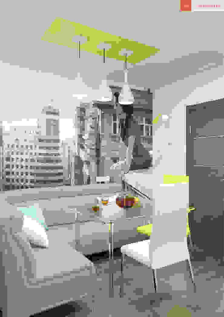 Яркие мечты Кухня в стиле минимализм от RogovStudio Минимализм