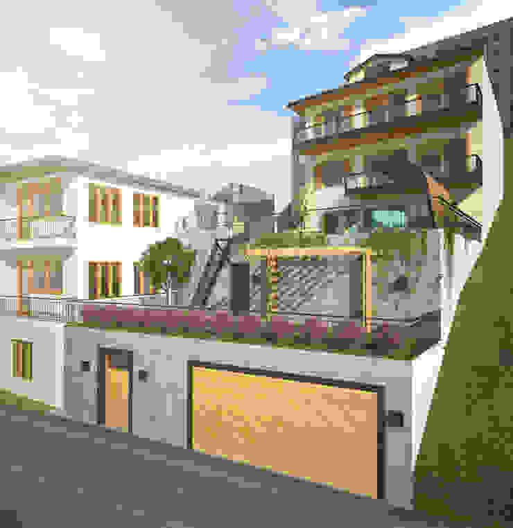 Villa Taşbaşı Modern Evler yücel partners Modern