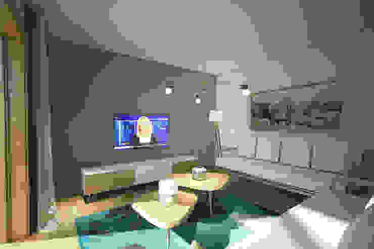 Villa Taşbaşı İskandinav Oturma Odası yücel partners İskandinav