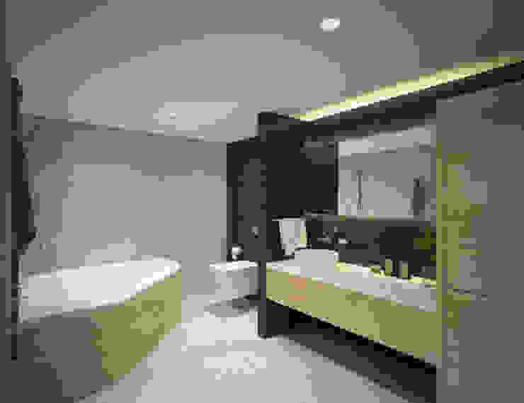 Villa Taşbaşı Modern Banyo yücel partners Modern