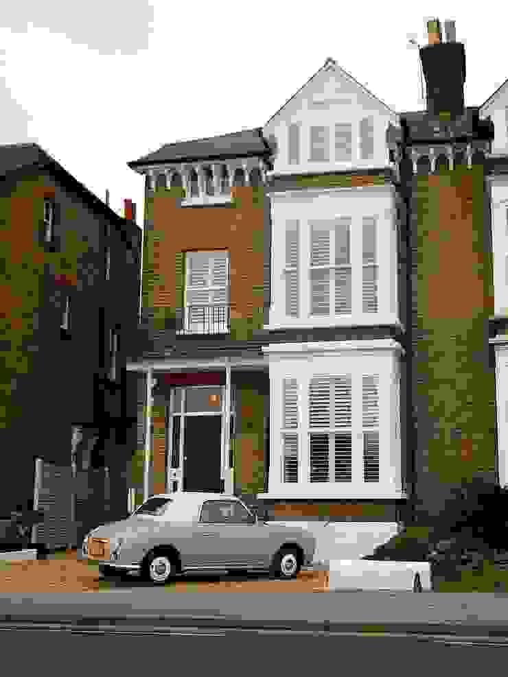 Full House Renovation with Crittall Extension, London Casas de estilo clásico de HollandGreen Clásico