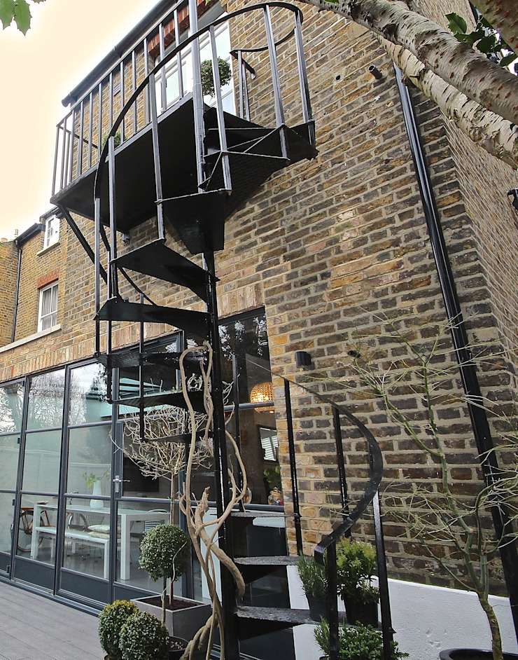 Full House Renovation with Crittall Extension, London HollandGreen Terrace