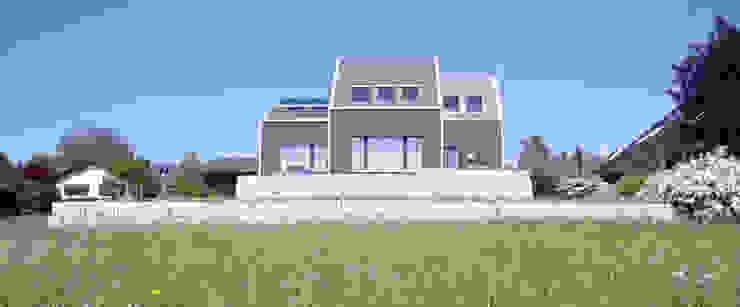 Gartenfassade Moderne Häuser von wohlgemuth & pafumi | architekten ag Modern