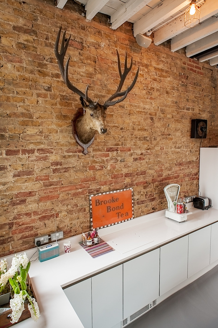 Full House Renovation with Crittall Extension, London HollandGreen Eclectic style kitchen