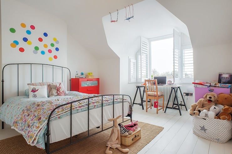 Full House Renovation with Crittall Extension, London HollandGreen Nursery/kid's room
